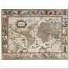 """""""Карта Мира 1650 года"""" 2000 элементов"""