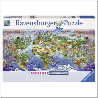 Пазл Причудливый город 5000 элементов, Ravensburger RSV-166985