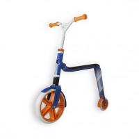 Беговел и самокат Scoot and Ride Highwaygangster бело-сине-оранжевый,  макс 100кг